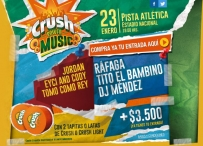 Participa por entradas para el Crush Power Music 2015 - 40 PRINCIPALES